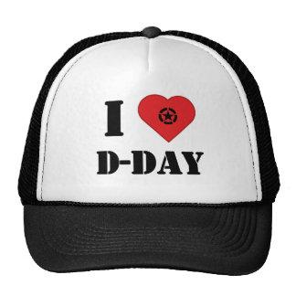 I love D-DAY cap - casquette