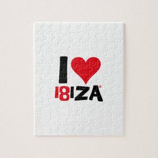 I love Ibiza 18IZA Édition Spéciale 2018 Puzzle