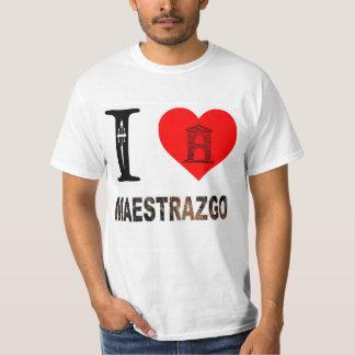 I LOVE MAESTRAZGO T-SHIRT