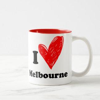 I love Melbourne Mug Bicolore