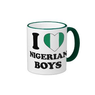 I love Nigerian Boys Mug Ringer