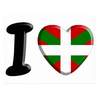 I love Pays Basque Cartes Postales