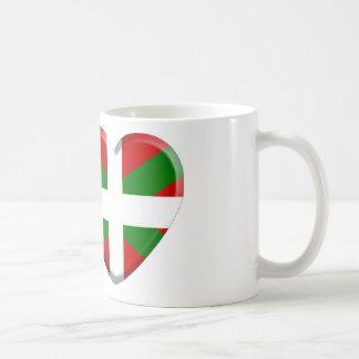 I love Pays Basque Mug Blanc