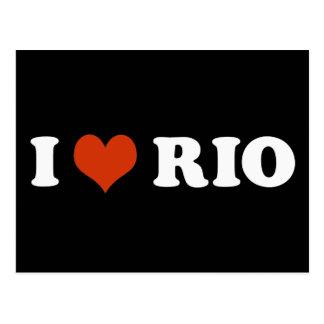 I love Rio de Janeiro Carte Postale