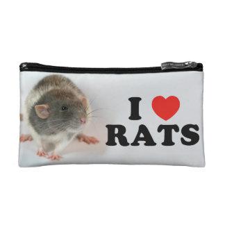 I love (russian blue) Rats Trousse De Toilette