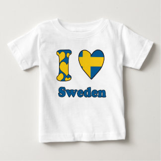 I love Sweden T-shirts