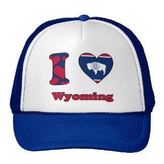 I love Wyoming Casquettes De Camionneur