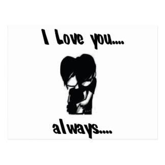 I Love You...Always Postcard