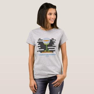 I mars pour le T-shirt des dames de la Science