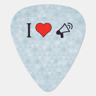 I mégaphones de coeur onglet de guitare