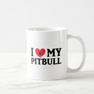 ♥ I mon Pitbull Mug