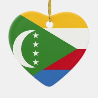 I ornement des Comores de coeur