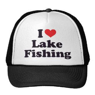 I pêche de lac heart casquette