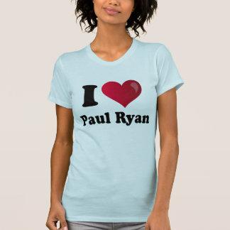 I pièce en t légère de Paul Ryan de coeur T-shirt