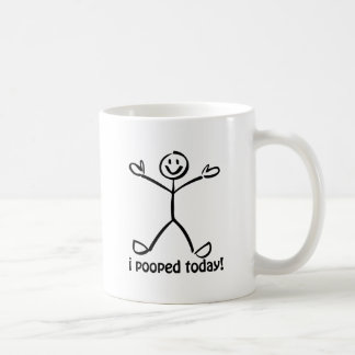 I Pooped aujourd hui Tasse À Café