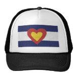 I produits de drapeau du Colorado de coeur ! Casquettes De Camionneur