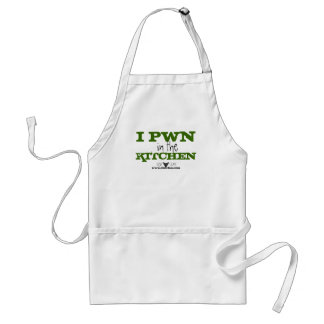 I Pwn dans le tablier de cuisine
