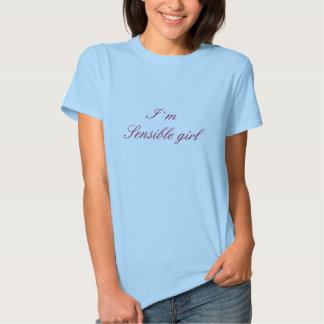 I ` raisonnable m de la fille… I du ` m CHIC T-shirts