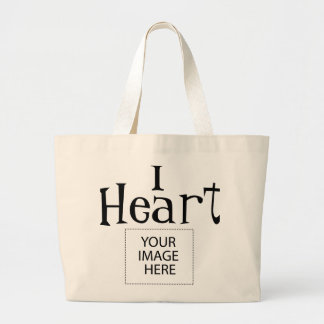 I sac fourre-tout personnalisable à coeur