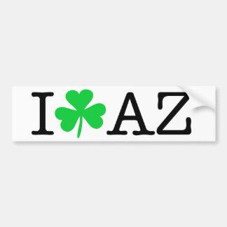I shamrock (coeur d'amour) Arizona AZ Autocollant De Voiture