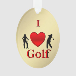 I sport de golf de coeur