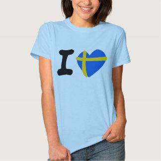 I Sweden love T-shirt