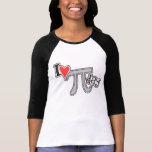 I T-shirt de jour du coeur pi - cadeau frais