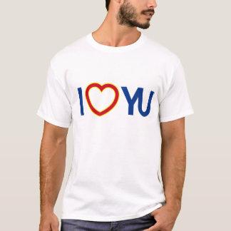 I T-shirt de YU de coeur