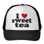 I thé de bonbon à coeur casquette de camionneur