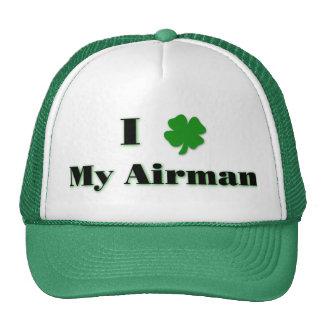 I (trèfle) mon chapeau d'aviateur casquette