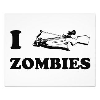 I zombis d'arbalète prospectus 11,4 cm x 14,2 cm
