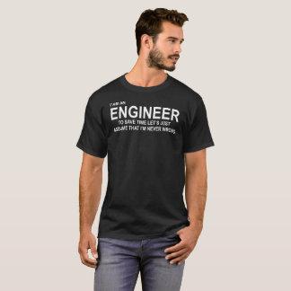 I'am un INGÉNIEUR, T-shirt drôle