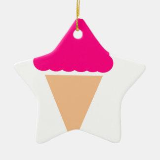 ice-cream-hi== ornement étoile en céramique