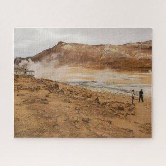 Iceland Jigsaw Puzzle - Hverir geothermal area