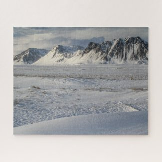 Iceland Jigsaw Puzzle - Snaefellsnes in Winter
