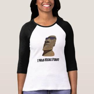 Ici premier Moi - 3/4 T-shirt de la douille des