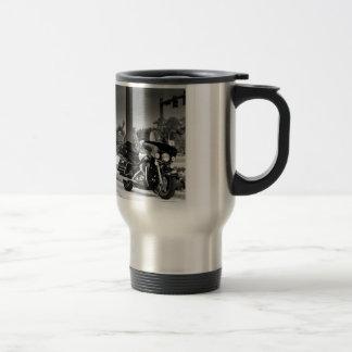 Icône américaine mug de voyage en acier inoxydable