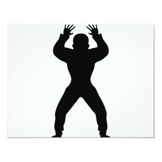 icône anormale de handball cartons d'invitation
