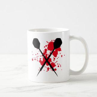 icône croisée de dards mug