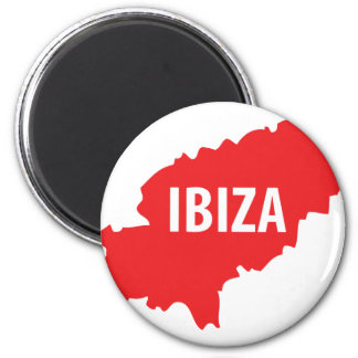 Icône d Ibiza Magnets Pour Réfrigérateur