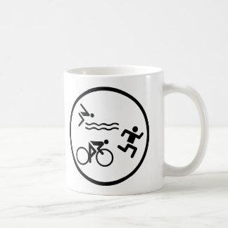 icône de cercle de triathlon mug