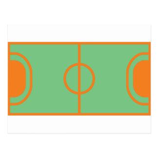 icône de champ de handball cartes postales