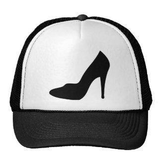 icône de chaussure gîtée par haute stylet casquette de camionneur