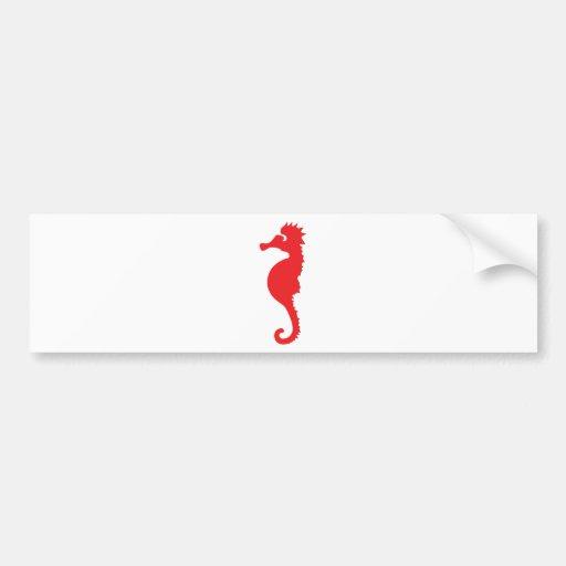 icône de cheval de la Mer Rouge Autocollant Pour Voiture