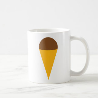 icône de cornet de glace mug