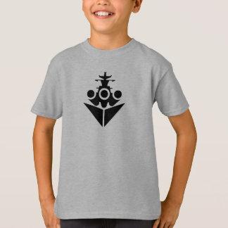 Icône de cuirassé t-shirt