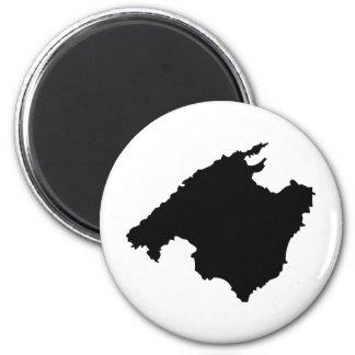 icône de découpe de Majorque Aimant Pour Réfrigérateur