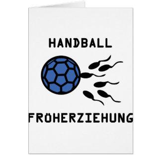 Icône de Früherziehung de handball Carte