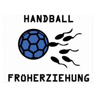Icône de Früherziehung de handball Carte Postale