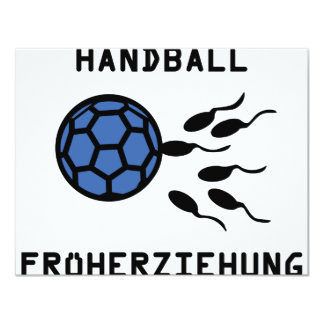 Icône de Früherziehung de handball Faire-parts
